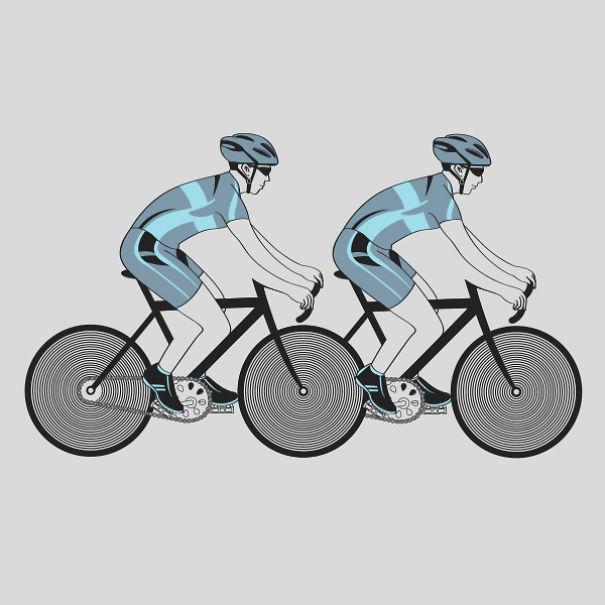 Cycling-Illusion