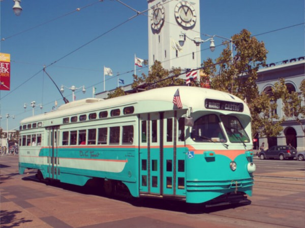 Jay-Galvin-from-Pleasanton-CA-USA-1946-Washington-DC-Transit-liveried-streetcar-running-on-San-Francisco-Muni-Steve-Morgan