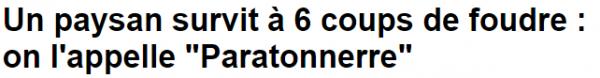paratonerre