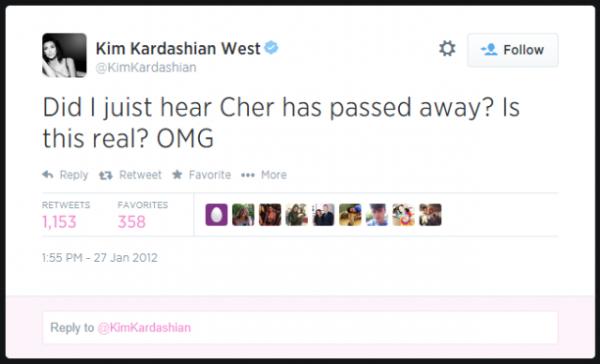 Kim-Kardashian-Cher-Twitter-Death-Hoax