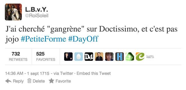 tweet-gangrène