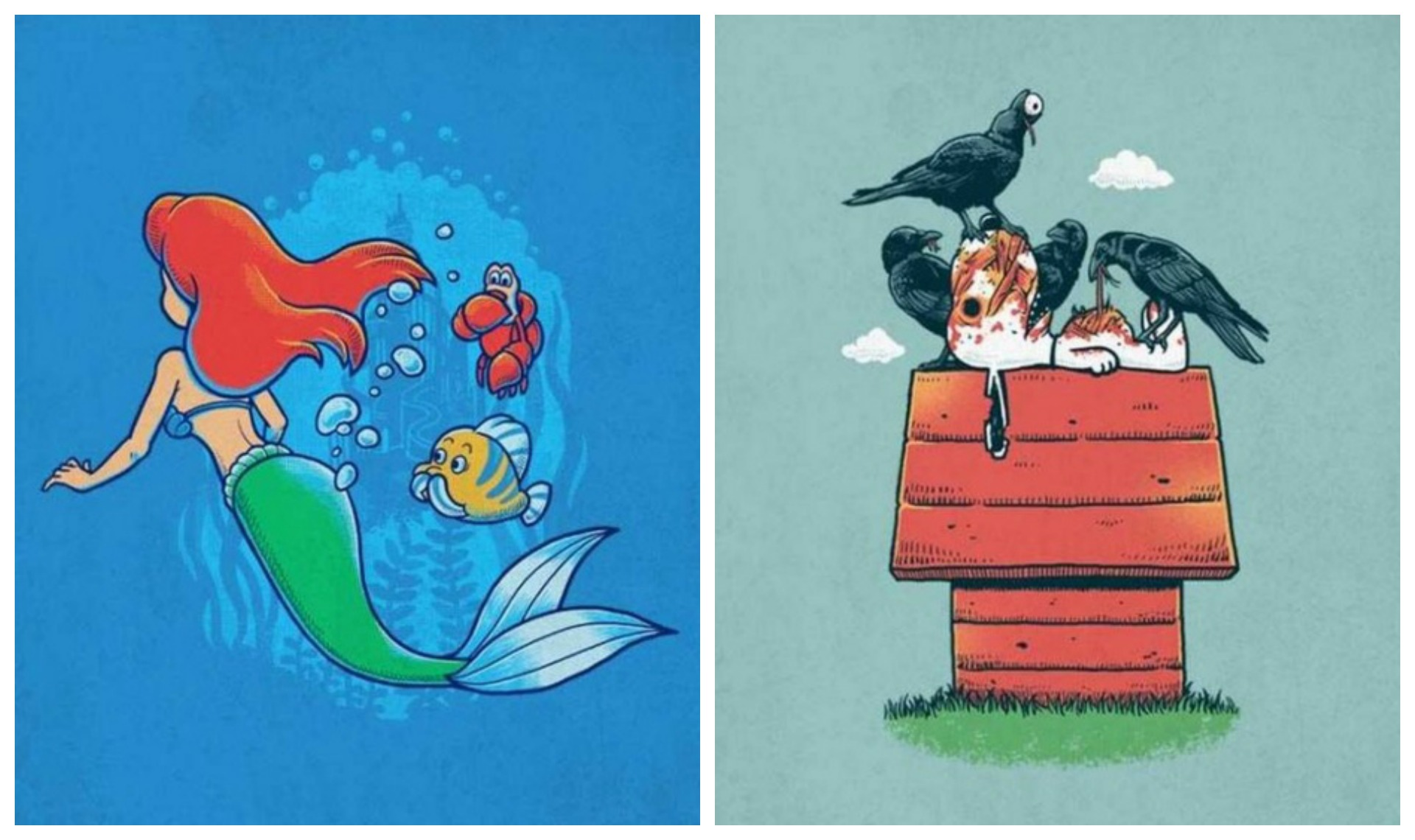 Top 14 des petites illustrations qui brisent notre enfance, vous avez dit glauque ?