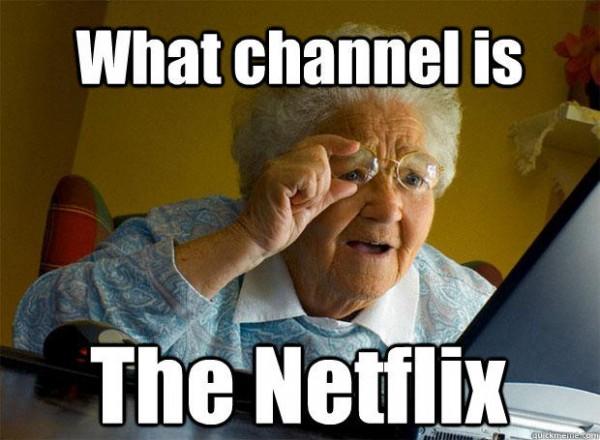 what channel netflix