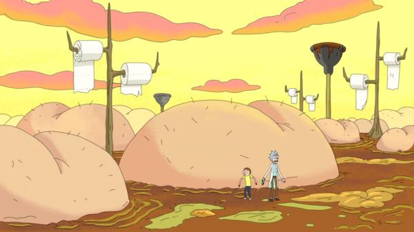 Un-monde-de-fesses-Rick-and-Morty