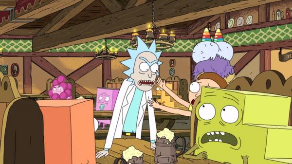 Un-monde-de-marches-Rick-and-Morty