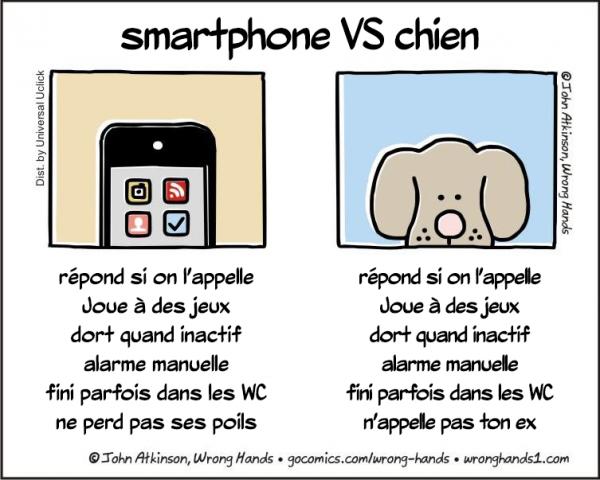 dogVSphone