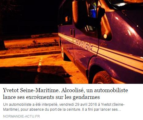 excrement gendarme