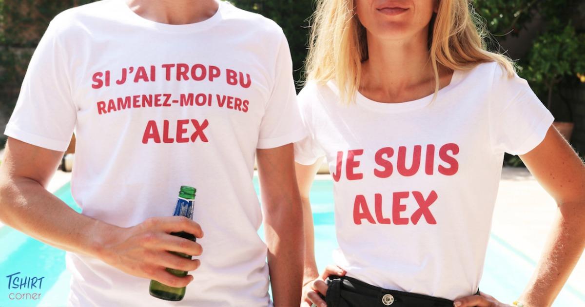 T-shirt pour soirées alcoolisées