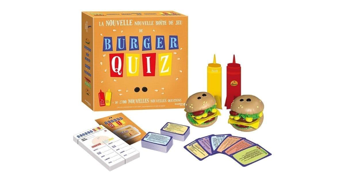 La nouvelle version du jeu Burger Quiz, pour les fans d'Alain Chabat