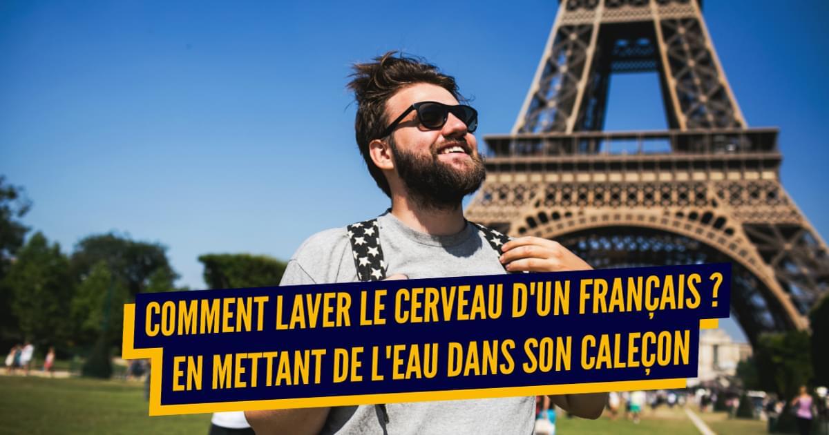Top 15 des blagues anglaises sur les Français, merci pour les beaux clichés