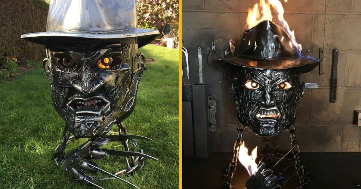 Un barbecue de Freddy, pour terrifier tes grillades (et tes voisins)