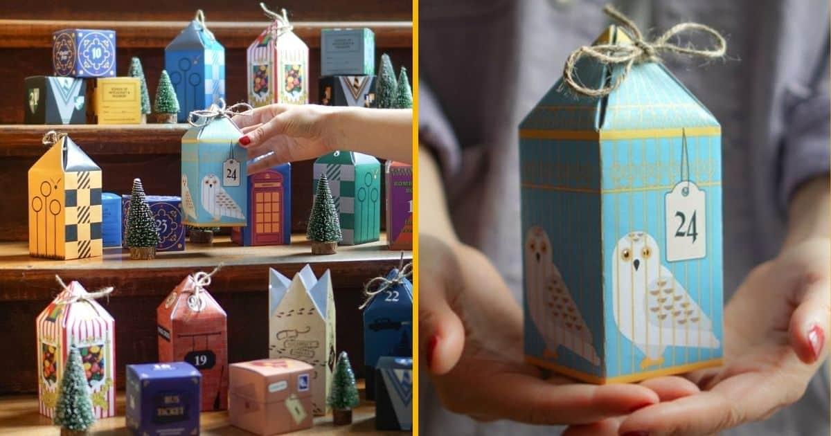 [Topitruc] Un Calendrier De L'avent Harry Potter À Télécharger Et Construire