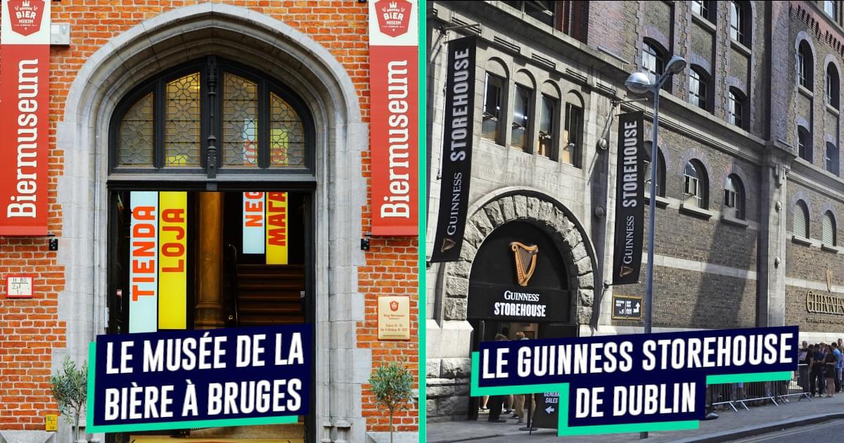 Top 9 des meilleurs musées de la bière en Europe, pour bien cultiver son houblon