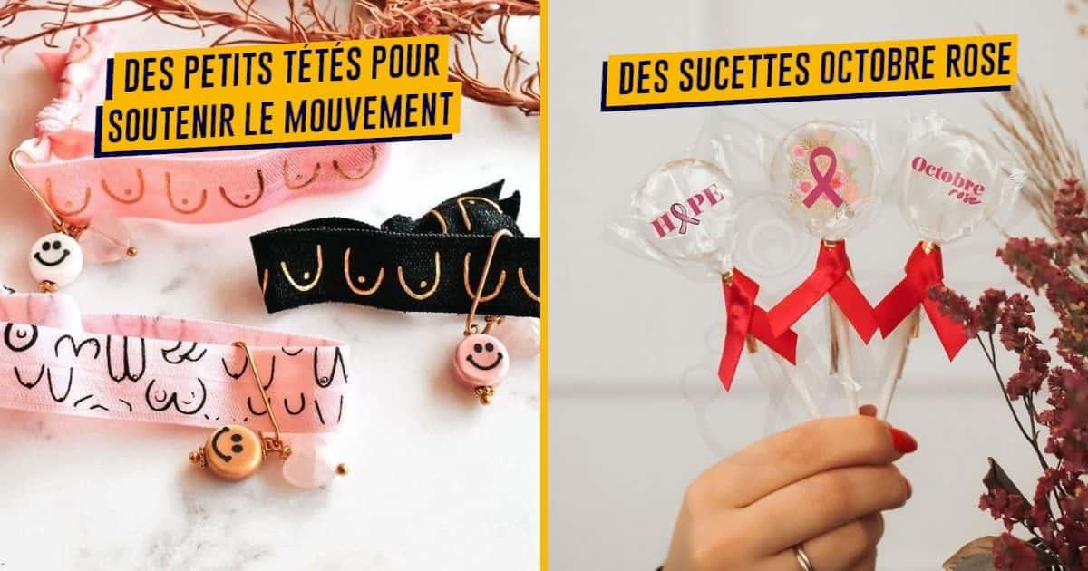 Top 20+ des cadeaux Octobre Rose à acheter pour financer la recherche contre le cancer du sein