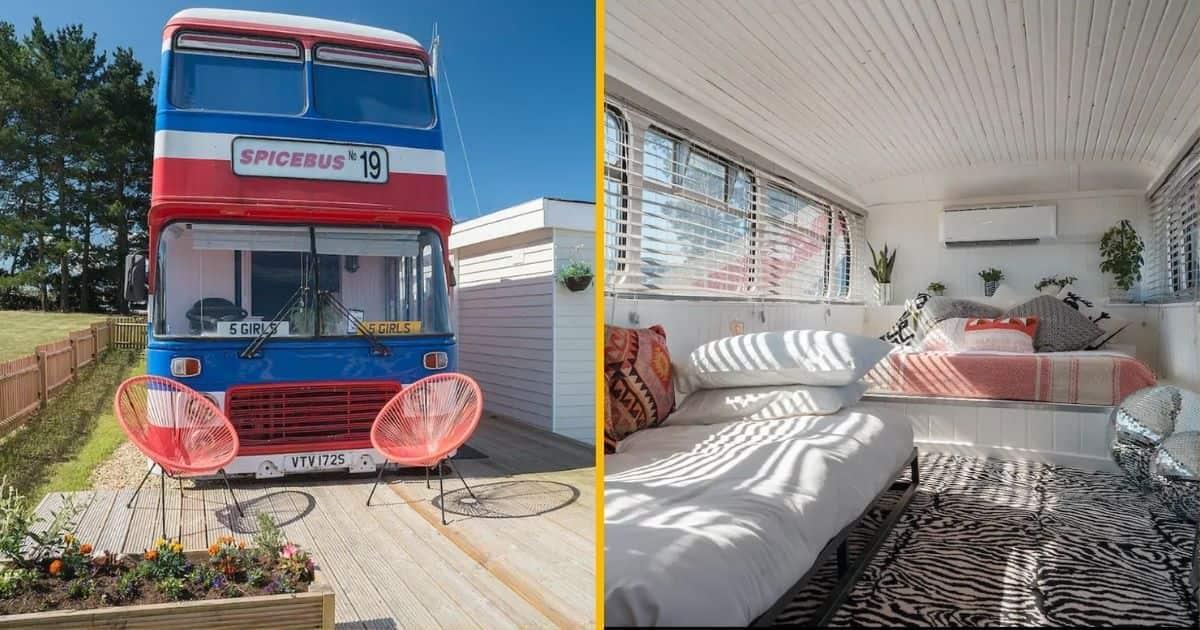Une nuit dans le Spicebus, le vrai bus des Spice Girls