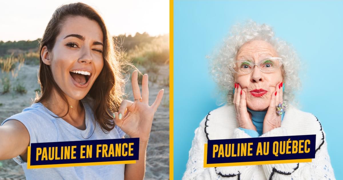 Top 16 des prénoms qui sont vus différemment en France et au Québec, faites pas la baboune