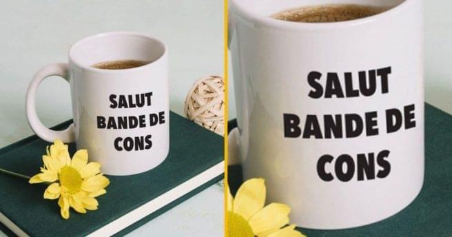 [TOPITRUC] Un mug parfait pour saluer tes collègues le matin