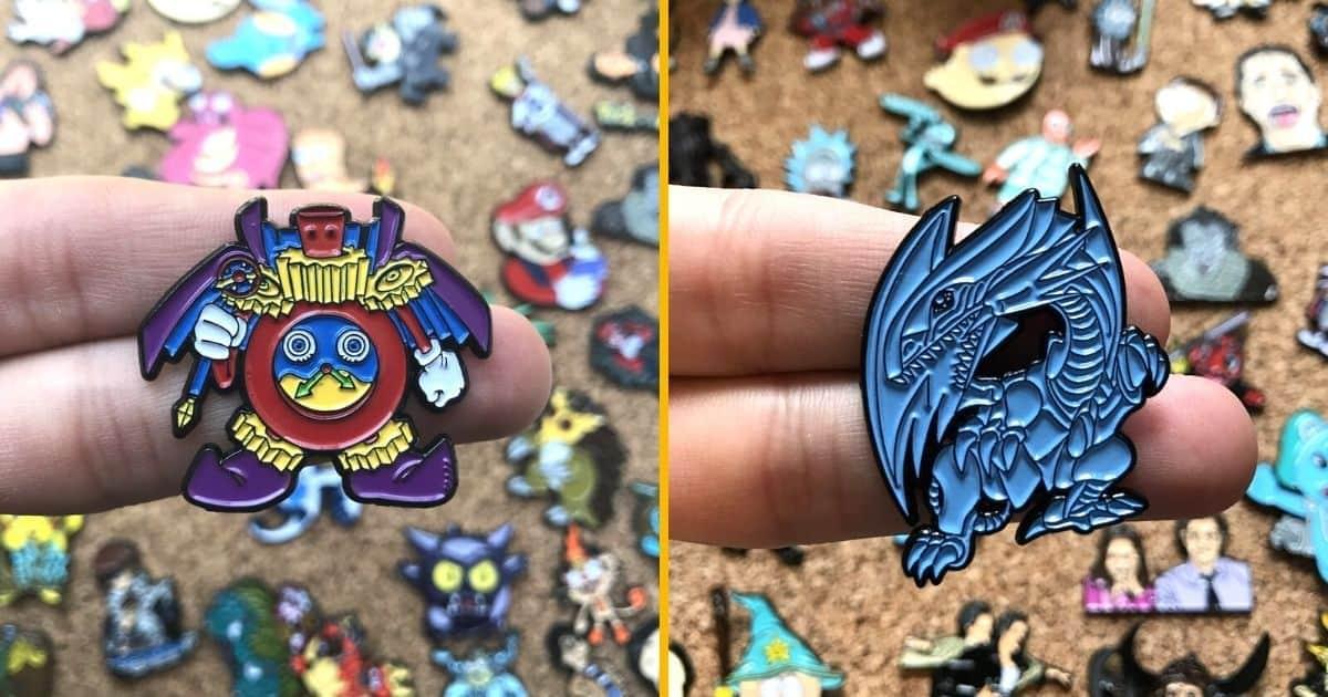 Des pins Yo-Gi-Oh, pour invoquer ton meilleur Dragon Blanc aux Yeux Bleus